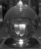 ze série Koule, čb fotografie, 70x80cm, 2009