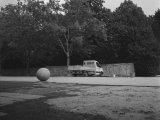 ze série Koule, čb fotografie, 60x80cm, 2008